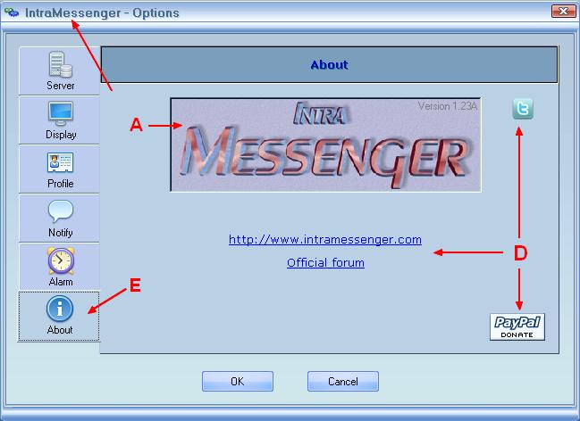 intramessenger client