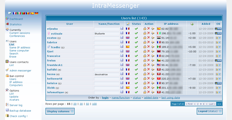 Intramessenger Free Corporate Instant Messaging Solution